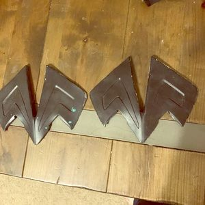 Latex WW cosplay boot tops